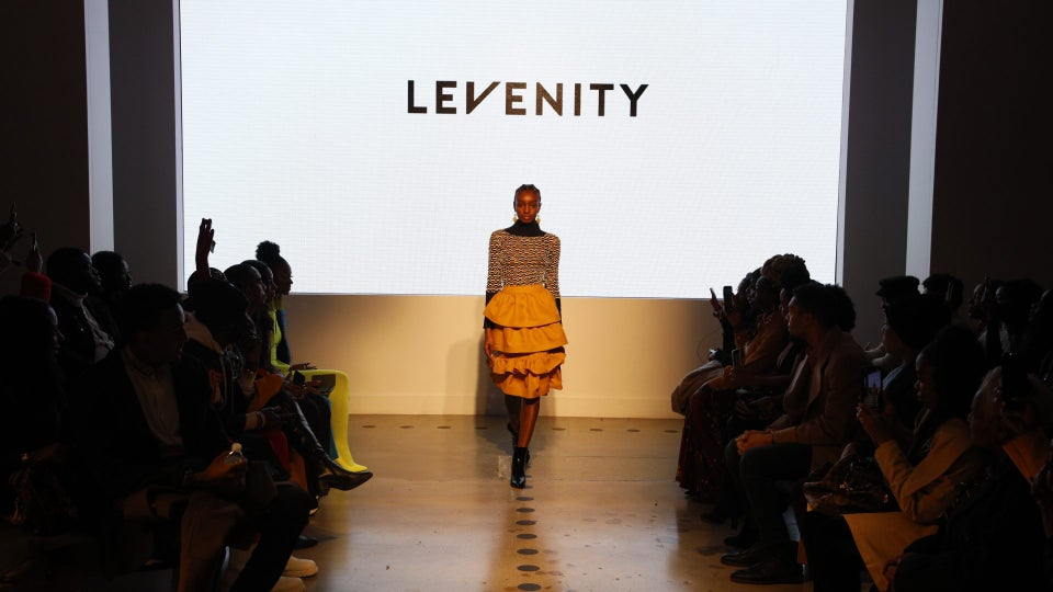Designer Venny Etienne of LEVENITY Presents A Vibrant Collection At ESSENCE Fashion House
