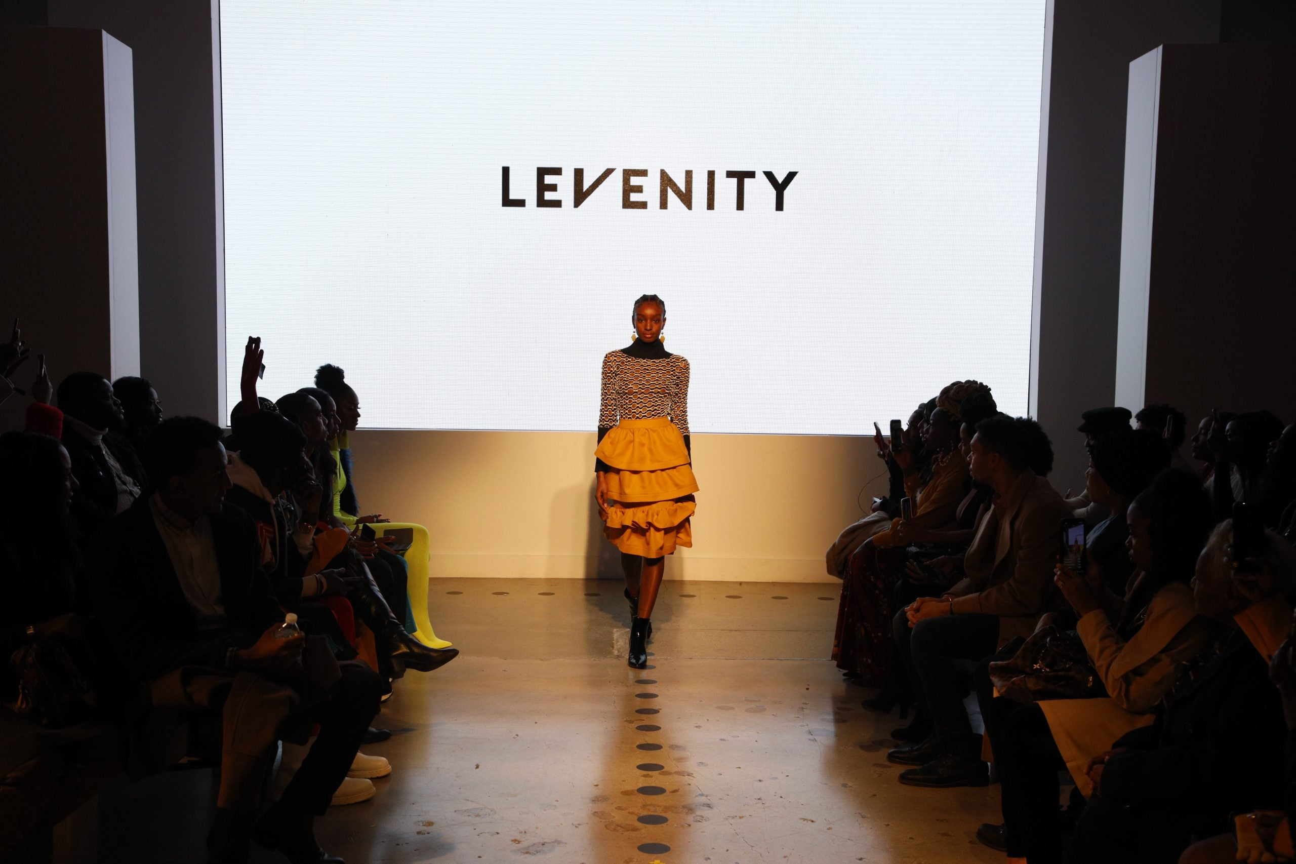 Designer Venny Etienne Of Levenity Presents A Vibrant Collection At Essence Fashion House Essence