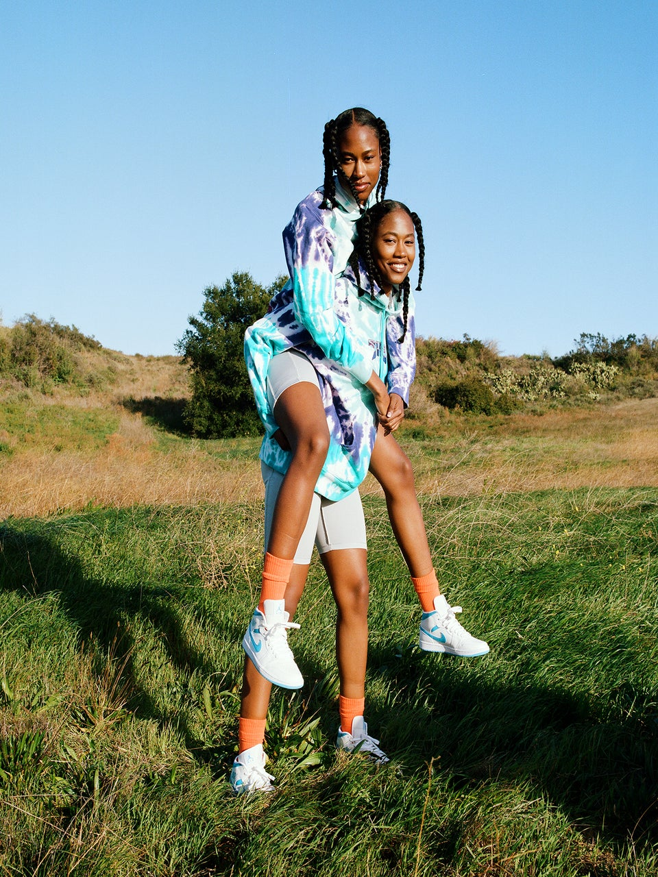 Sneakersnstuff Launches A Colorful Psychedelic Collection