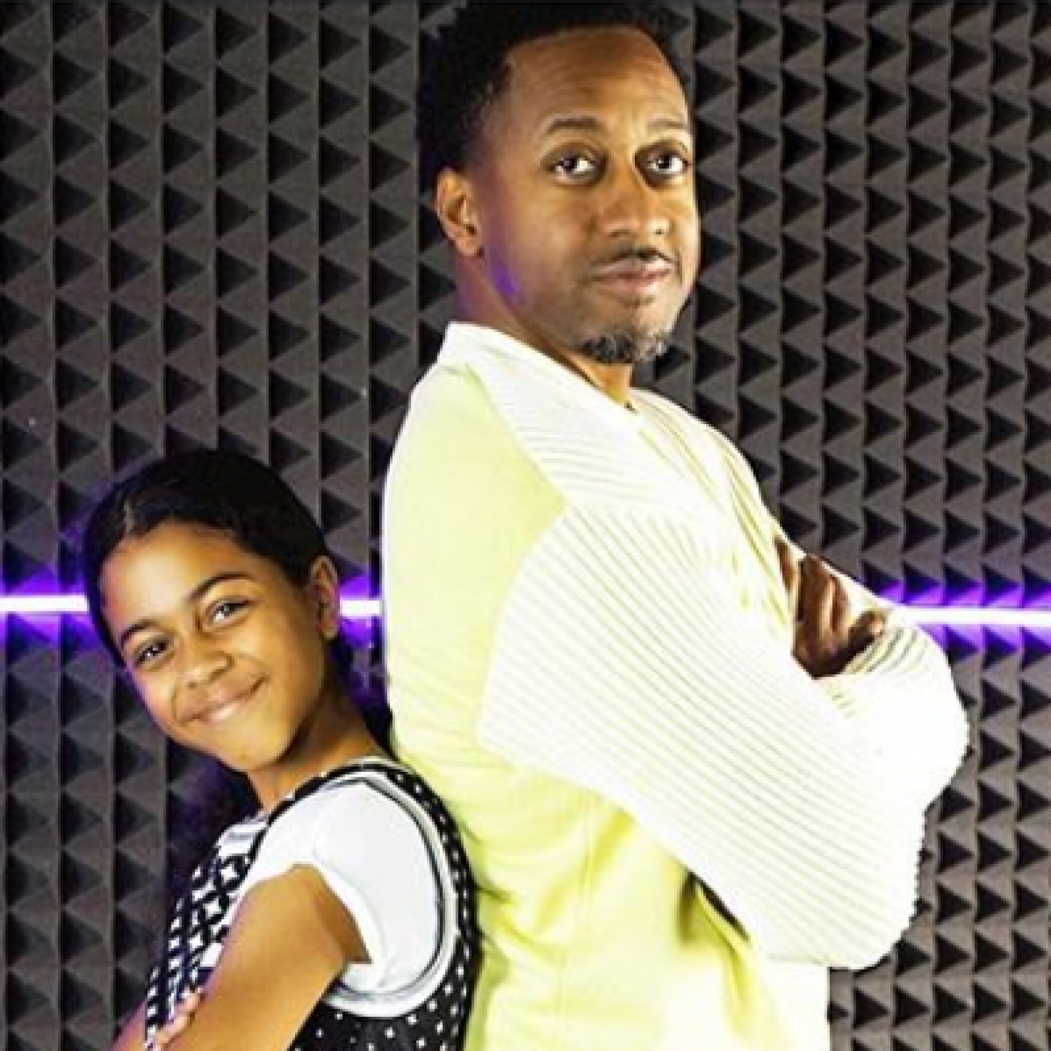 How Cute! Jaleel White And His Daughter, Samaya, Are Practically Twins