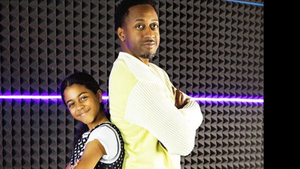 Jaleel White And His Daughter, Samaya, Are Practically Twins