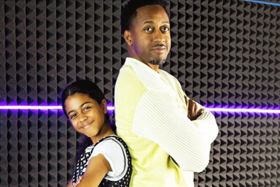How Cute! Jaleel White And His Daughter Samaya Are Practically Twins