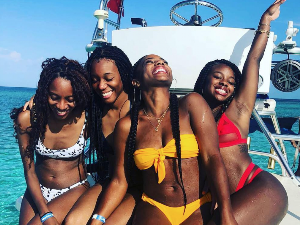 These Caribbean Queens Know How To Enjoy Fun In The Sun
