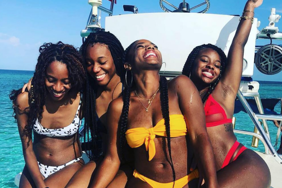 24 Times Black Women Were Happy and Sun-Kissed In The Caribbean