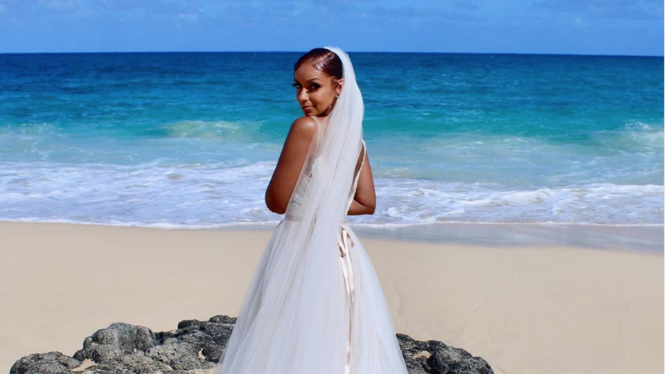"Plot Twist! Singer Mya Married Herself For New Music Video ""The Truth"""