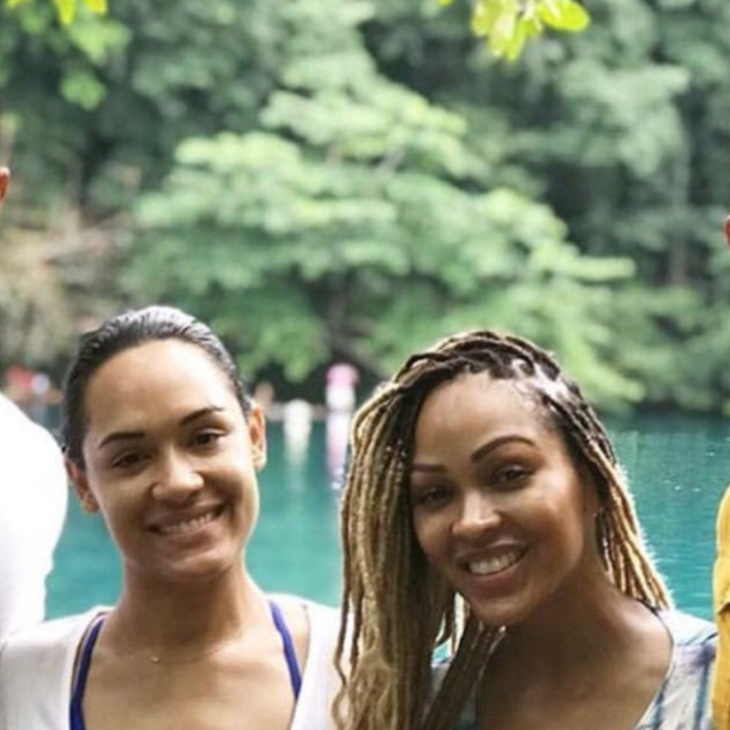 How Sweet! Meagan Good And Grace Byers Planned The Cutest Double Date For Their Husbands
