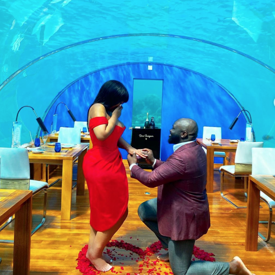 This Couple's Underwater Maldives Proposal Will Make Your Heart Smile