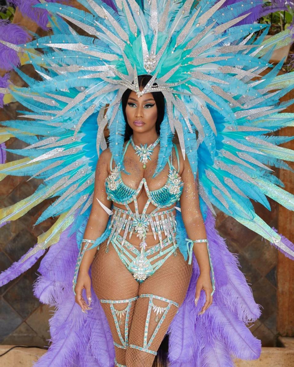 Nicki Minaj Honors Her Roots At Trinidad Carnival