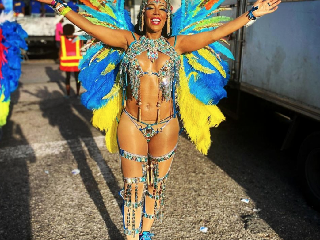 'Real Housewives' Tanya Sam Lived Her Best Life At Trinidad Carnival
