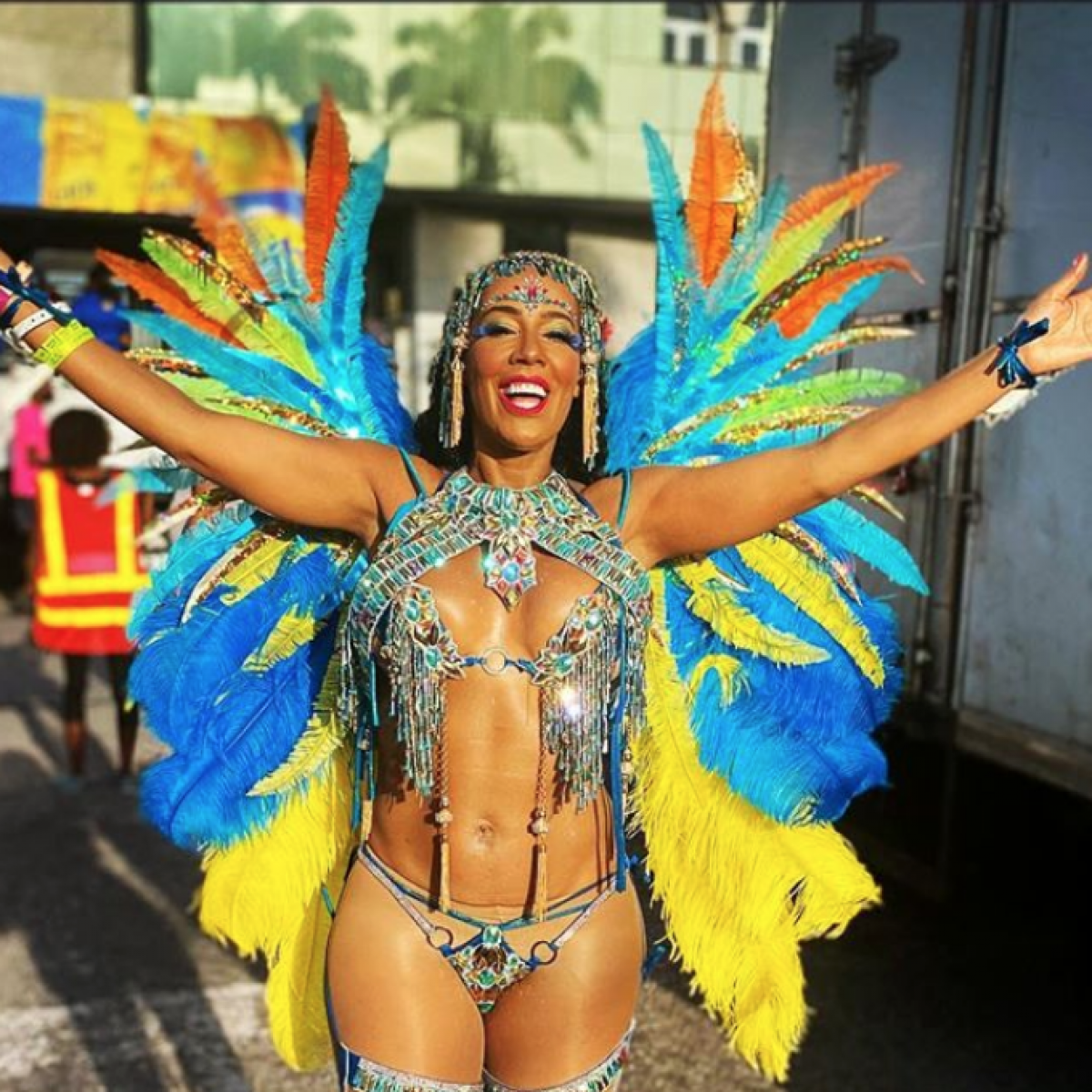 'Real Housewives' Star Tanya Sam Lived Her Best Life With Fans At Trinidad Carnival