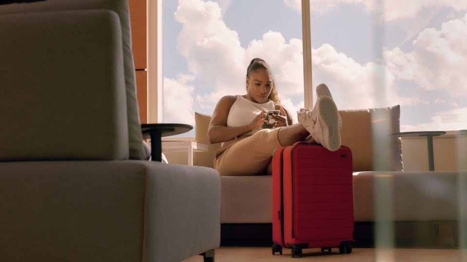 Serena Williams Gets Carried Away With New Travel Collection
