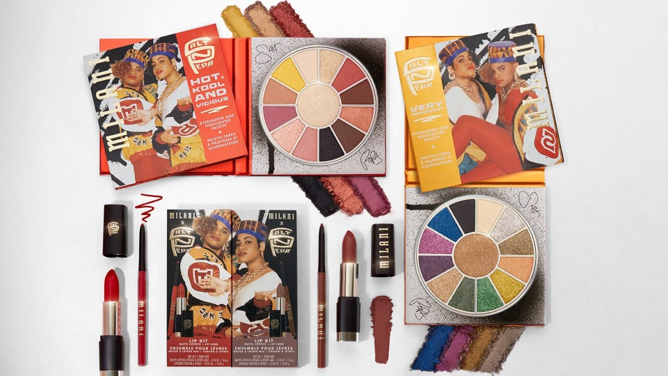 Salt-N-Pepa Launches Makeup Collection With Milani Cosmetics