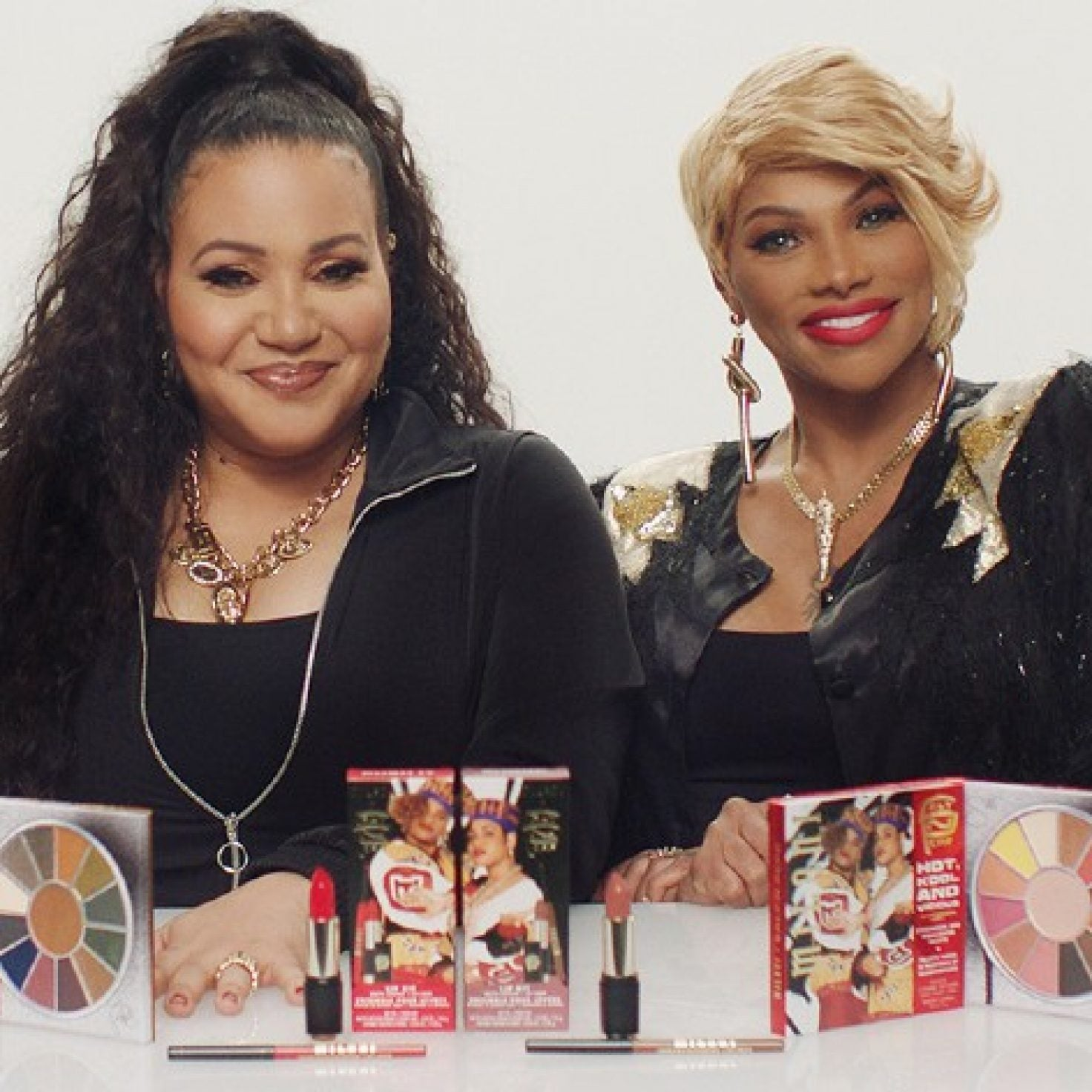 Salt-N-Pepa Teams Up With Milani For 90's-Inspired Makeup Collection