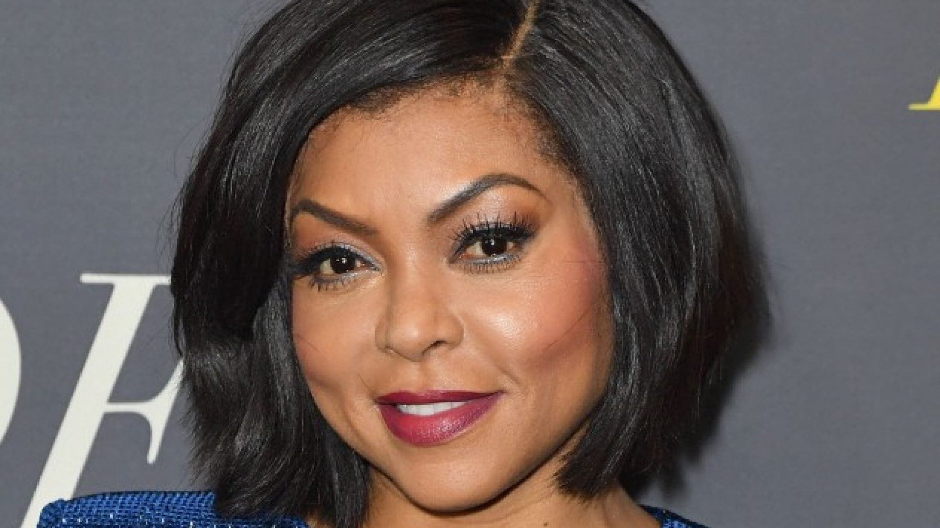 Taraji P. Henson's Crimson-Colored Curls Are A Must See