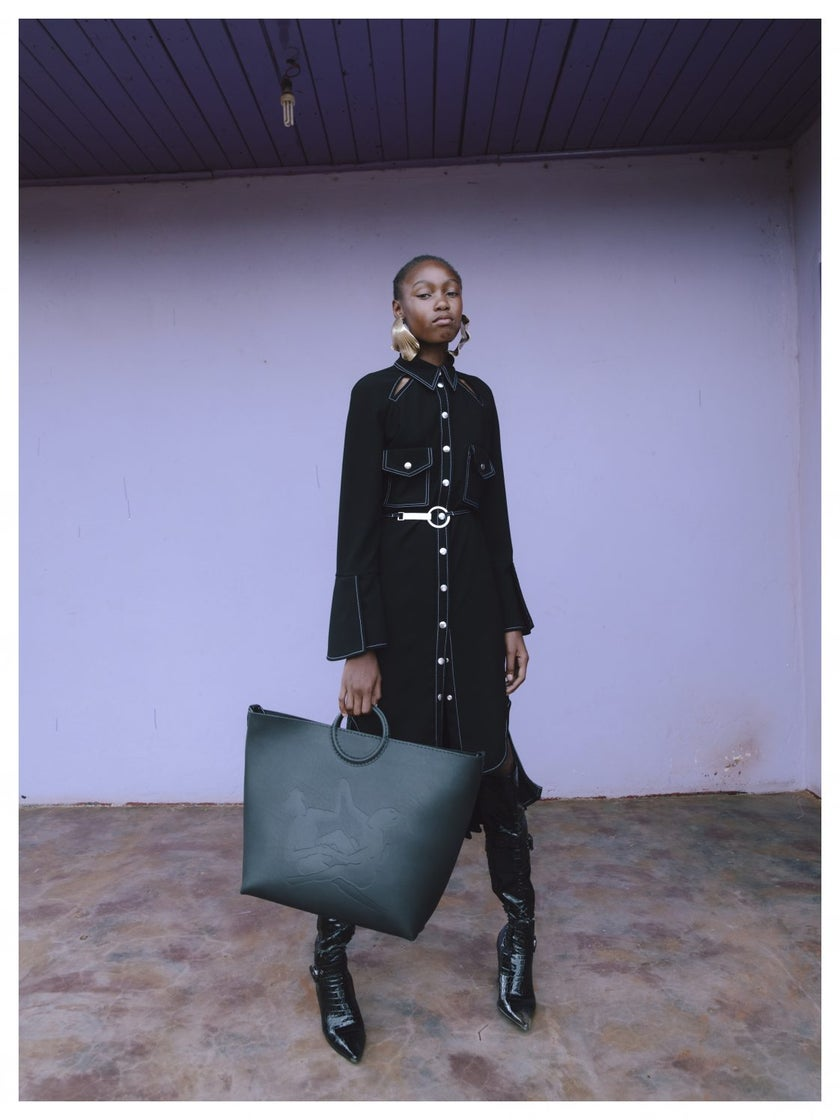 Thebe Magugu Pays Homage To South Africa With His Fall/Winter  2020 Collection