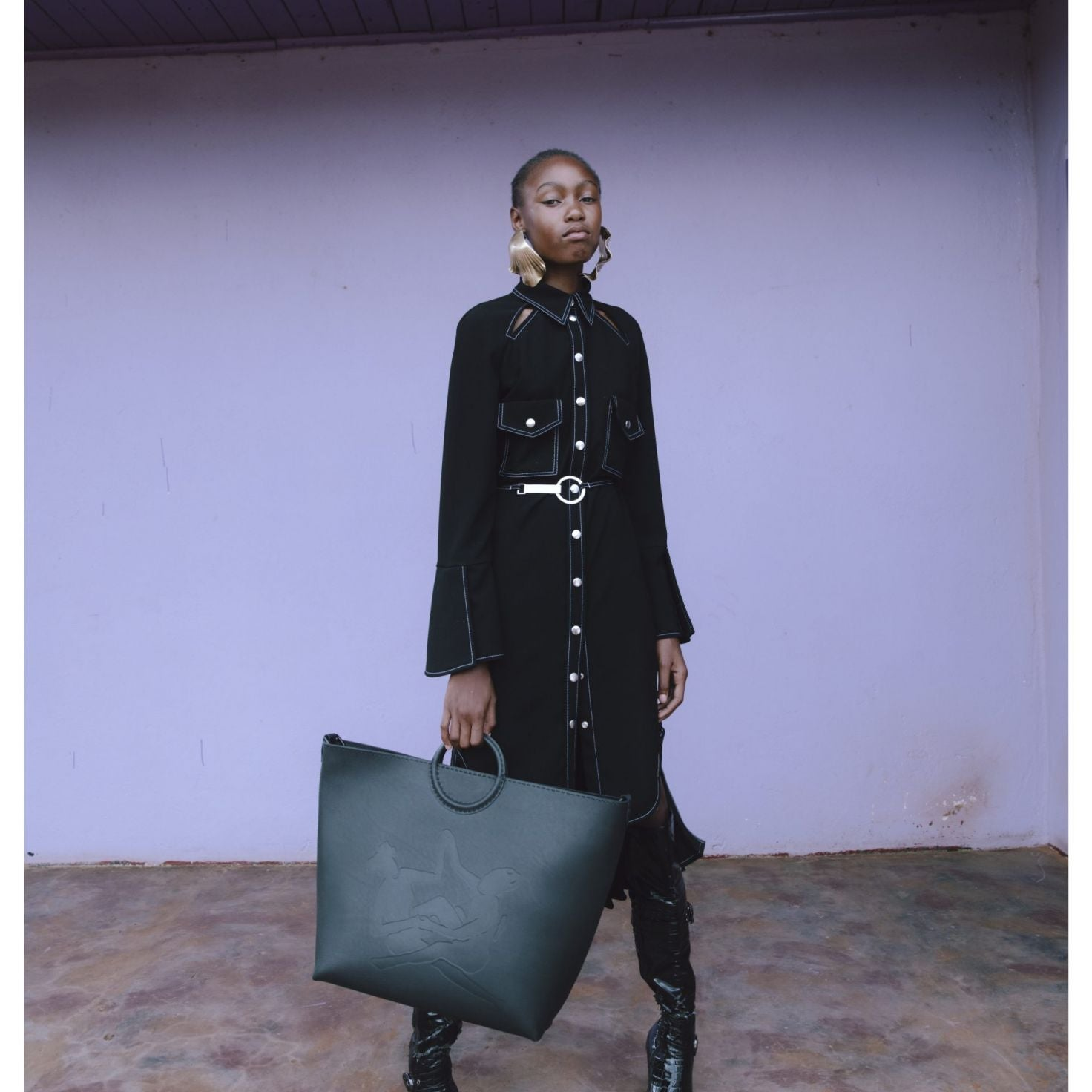 Thebe Magugu Pays Homage To South Africa With His Autumn/Winter 2020 Collection