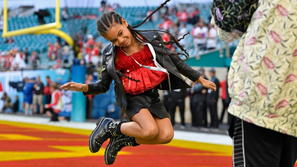Here's Where To Shop Blue Ivy's Affordable Super Bowl Jacket
