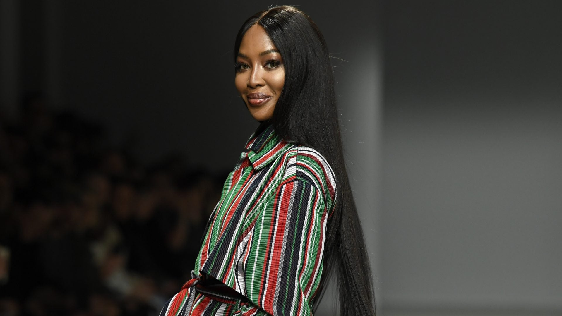 Naomi Campbell Walks Kenneth Ize's Paris Fashion Week Show