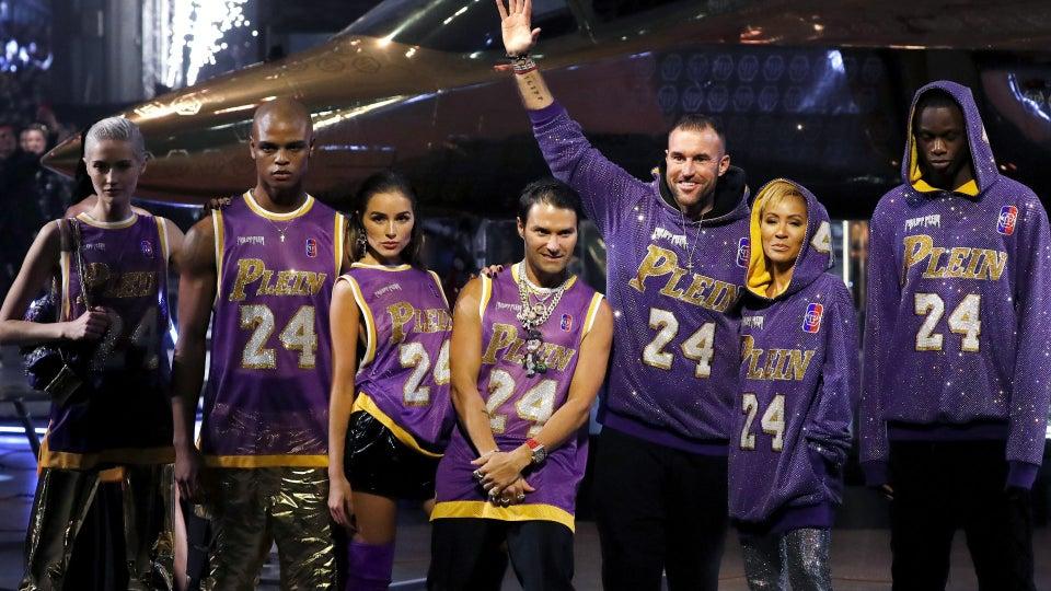 The Internet Reacts To Philipp Plein's Kobe Bryant Tribute