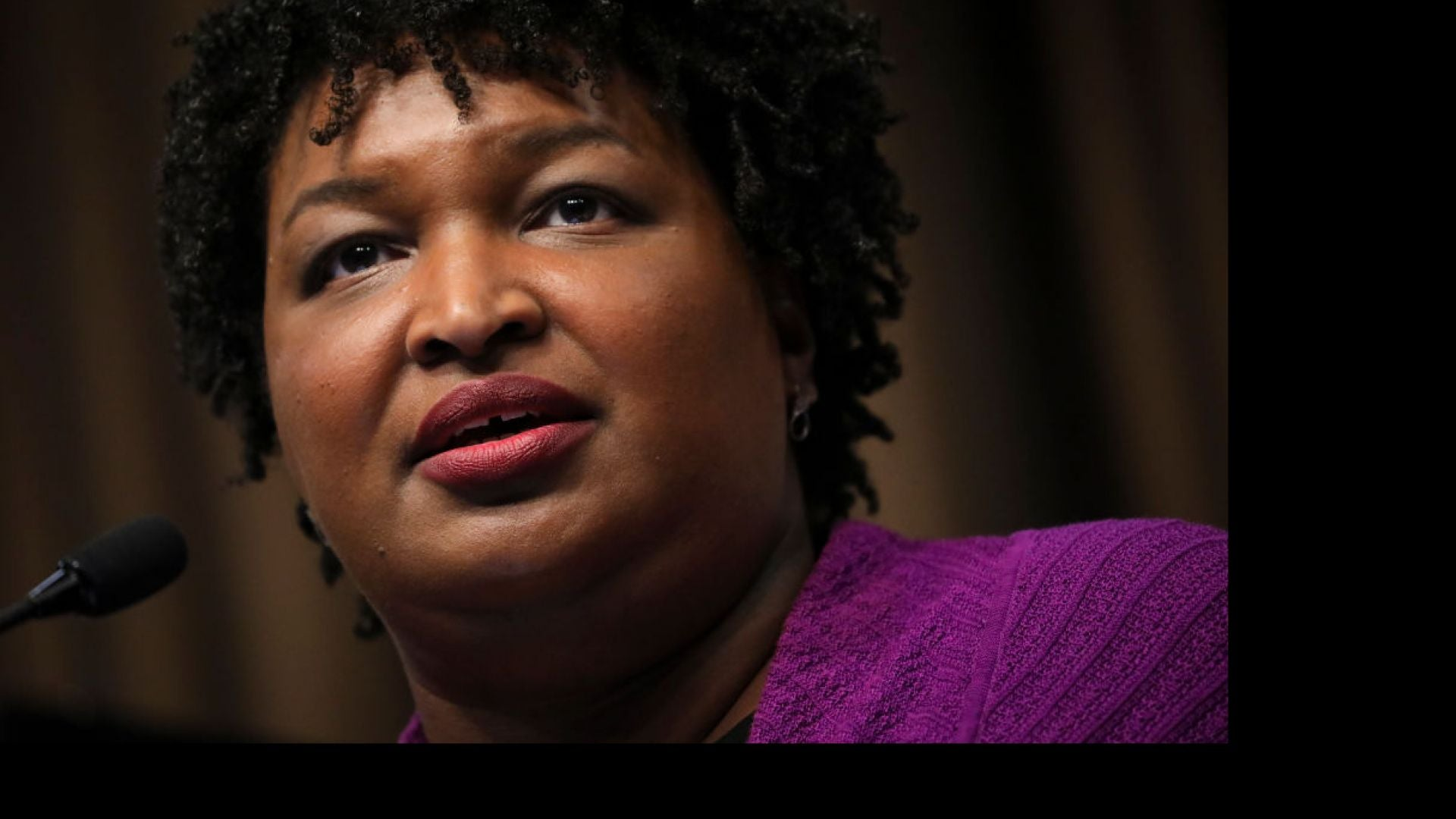 Stacey Abrams Says Democrats Will Win In 2020 'By Telling Our Story,' Not Running Against Trump
