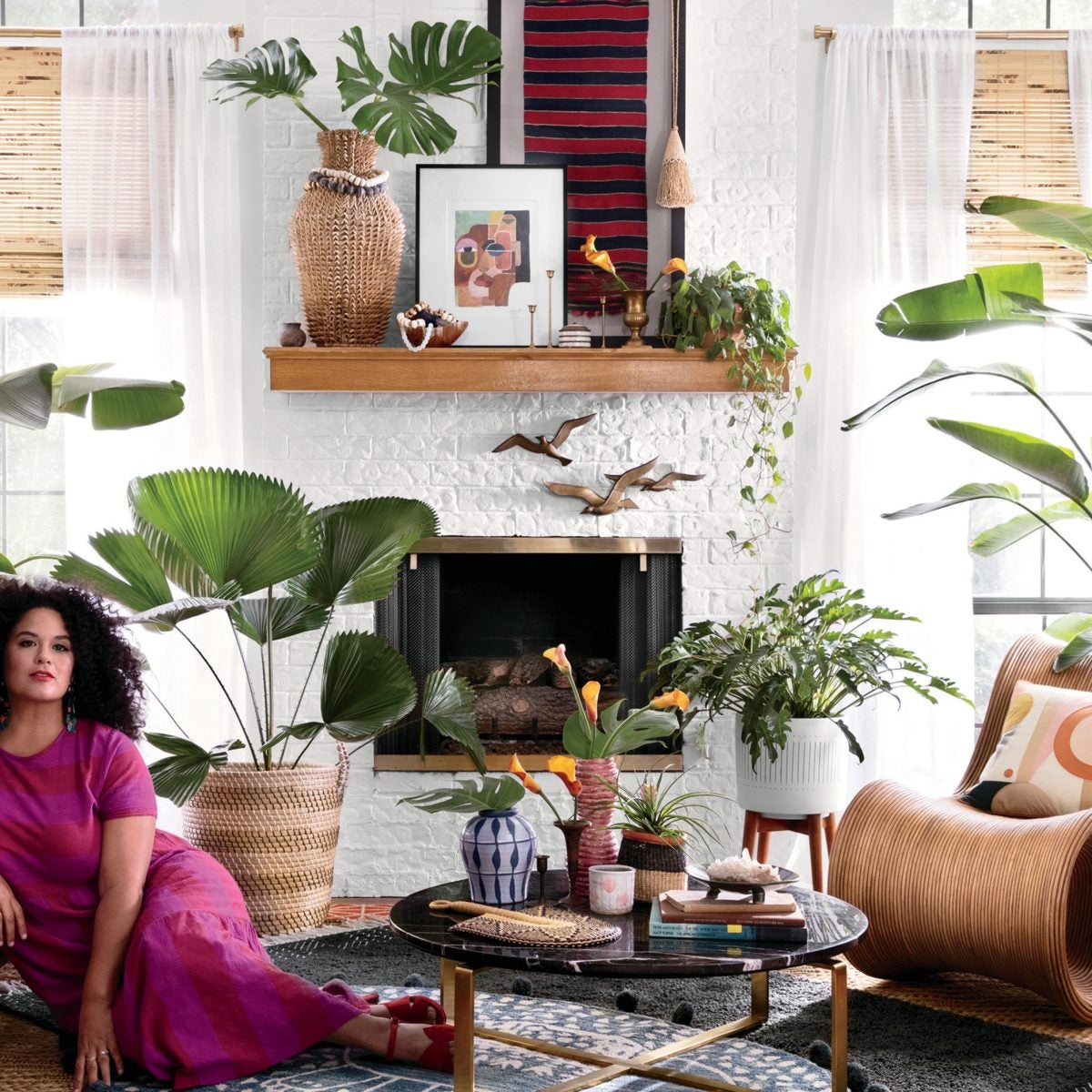 Interior Designer Justina Blakeney Shows The World How To Live In Color