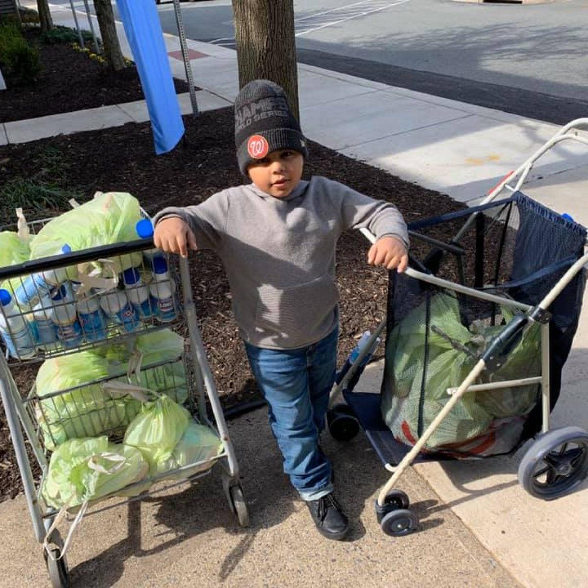 Maryland 7-Year-Old Creates Coronavirus Care Packages For Seniors