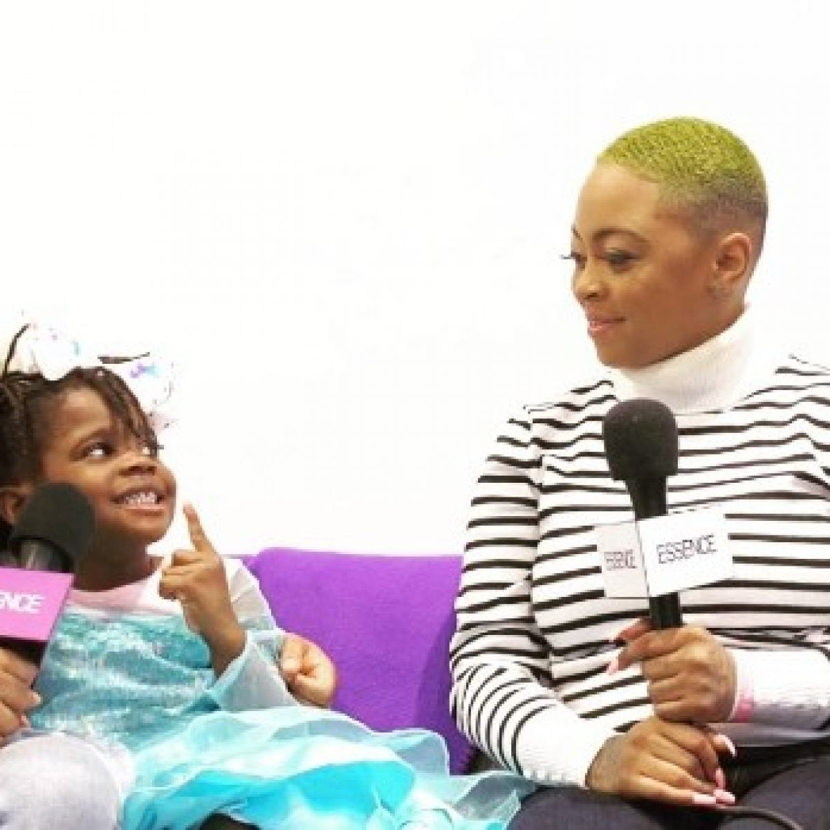 Girl Who Was Affirmed After She Said She Was Ugly Stops By ESSENCE