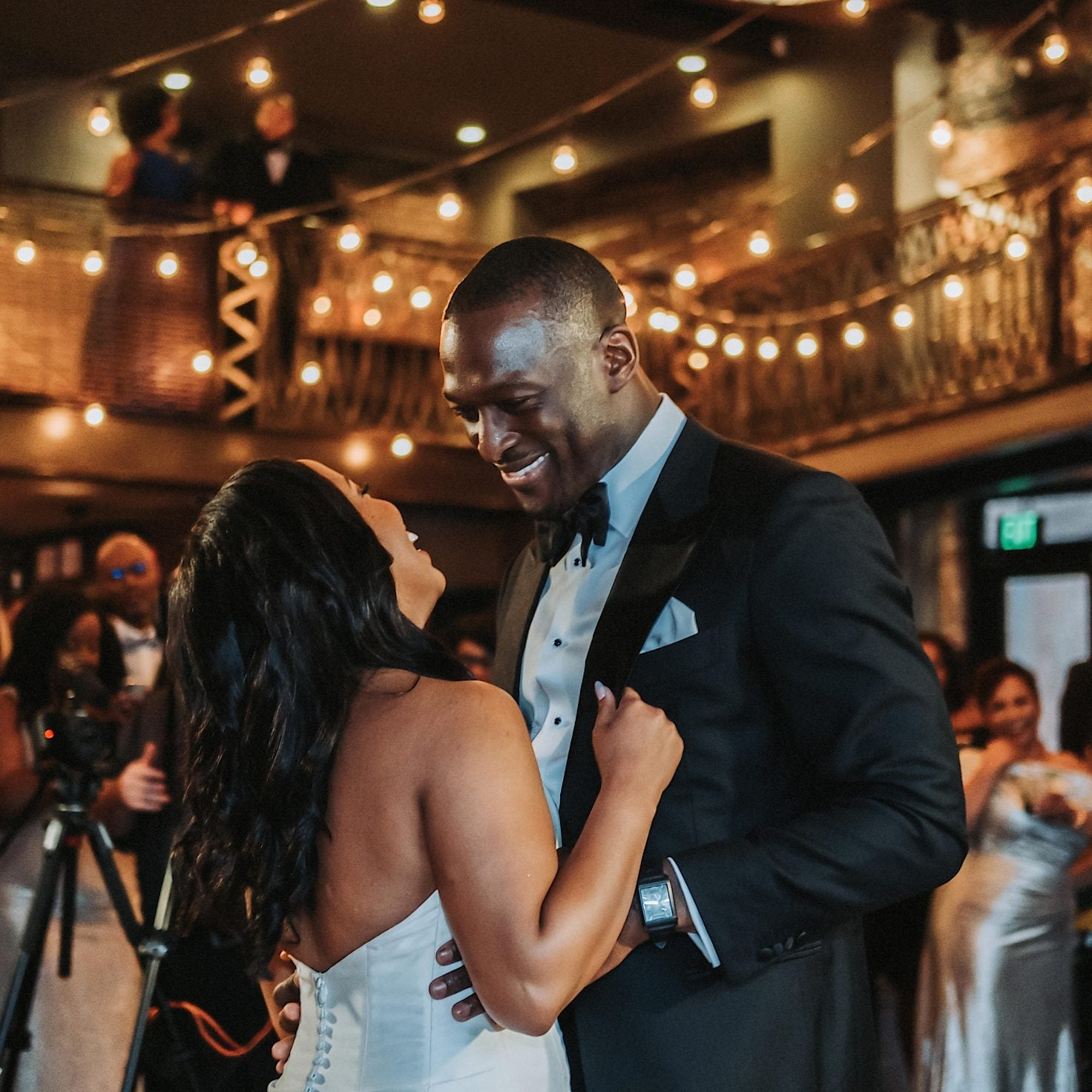 Bridal Bliss: The Groom Lonzell Cried When He Saw His Bride Bianca, And We Did Too