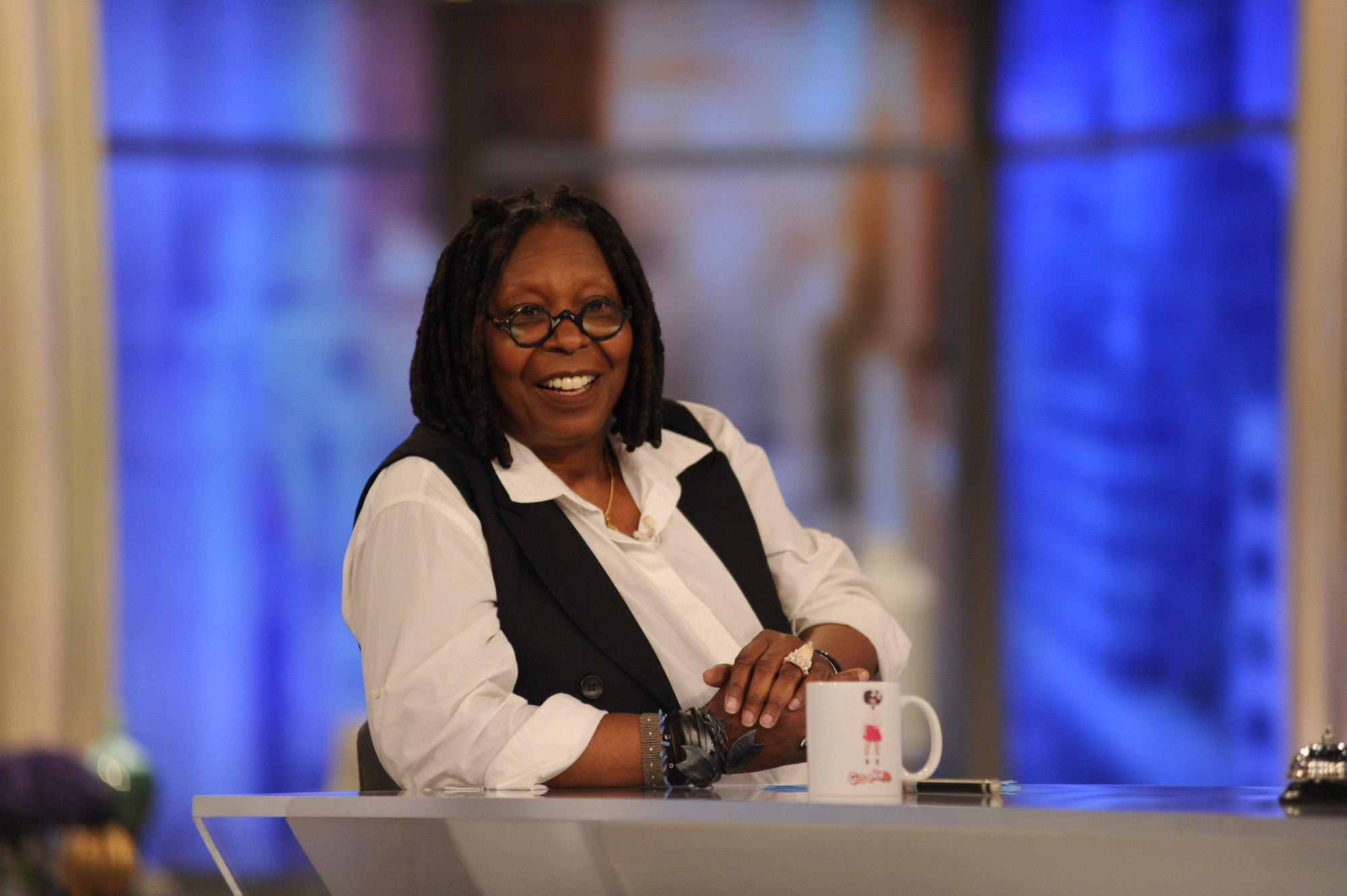 Whoopi Goldberg Co-Hosts 'The View' While Self-Quarantined