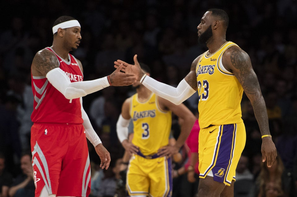 Carmelo Anthony Reveals LeBron James Saved Him From Drowning