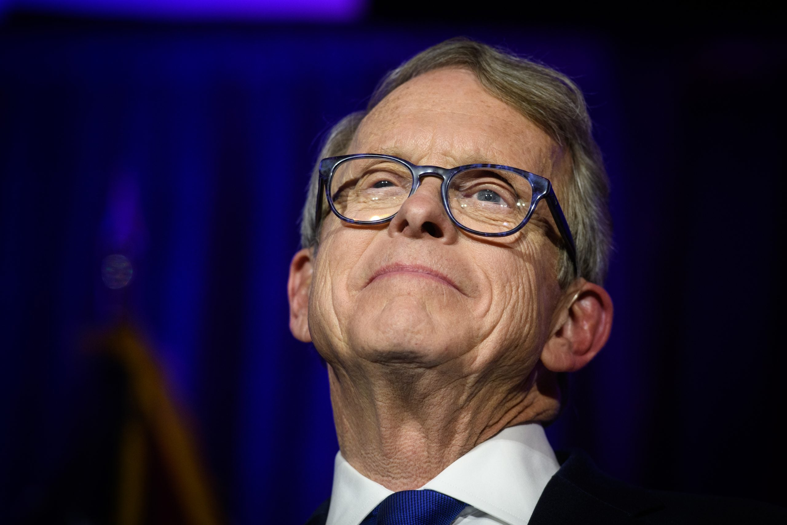 Republican Governor Mike DeWine of Ohio