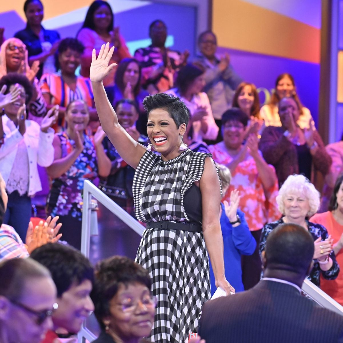 Tamron Hall Accepts Daytime Emmy Award Wearing Plush Bathrobe