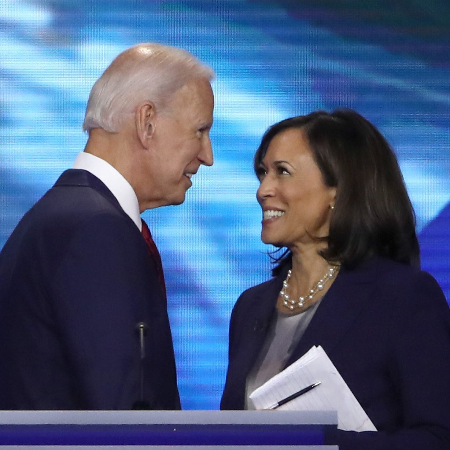 Kamala Harris Fundraises With Biden, Twitter Crowns Her Best VP Pick