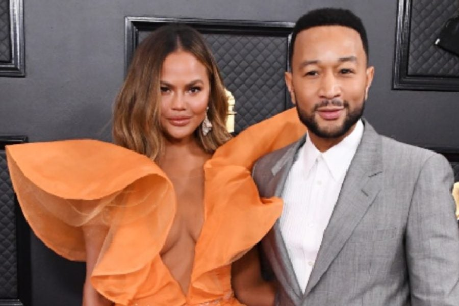 Chrissy Teigen's Head Wrap Stole The Spotlight During John Legend's Instagram Concert - Essence