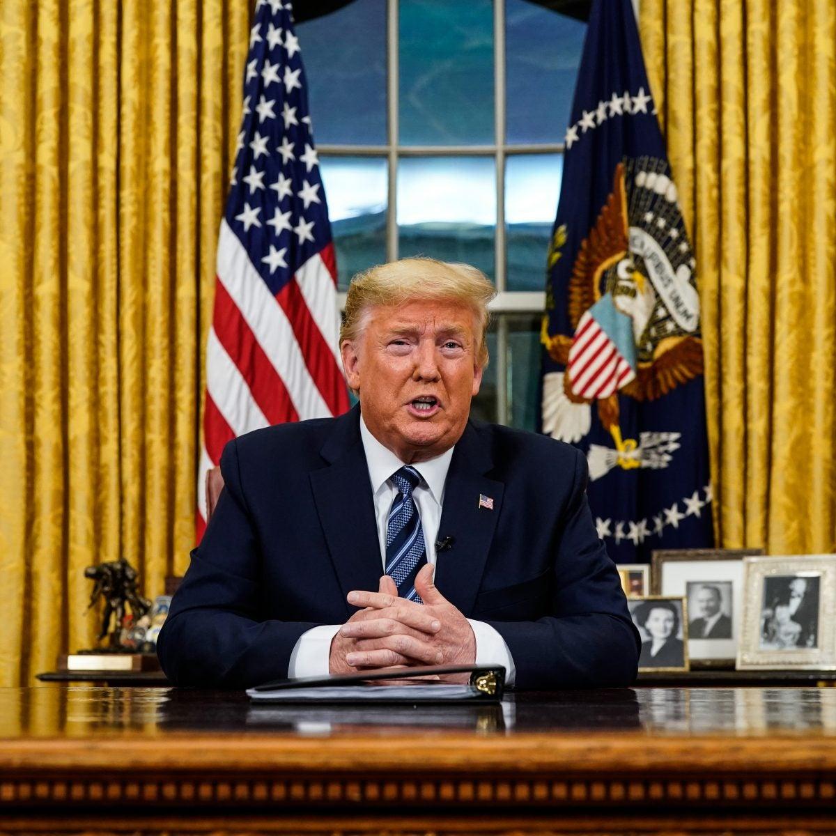 Trump Restricts Travel From Europe Amid Coronavirus Crisis
