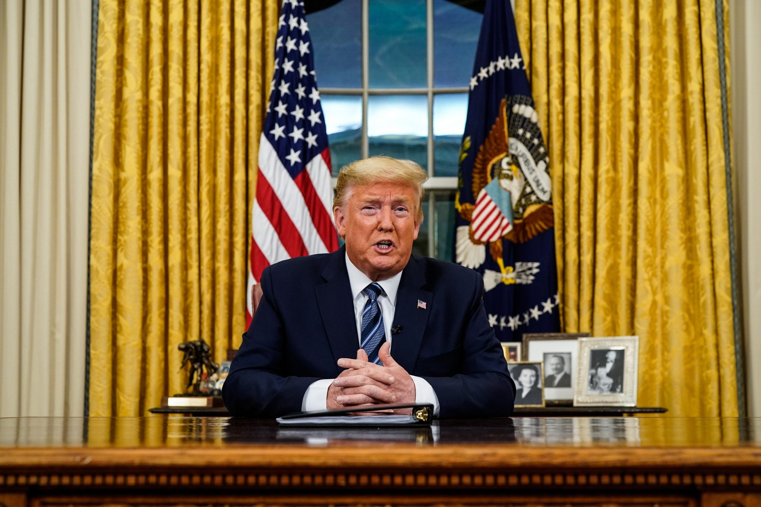 Donald Trump calls COVID-19 'Chinese virus' and kung flu