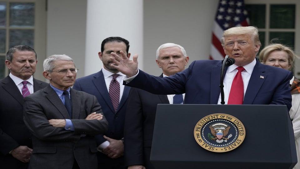 Trump Declares National Emergency To Address Coronavirus Crisis