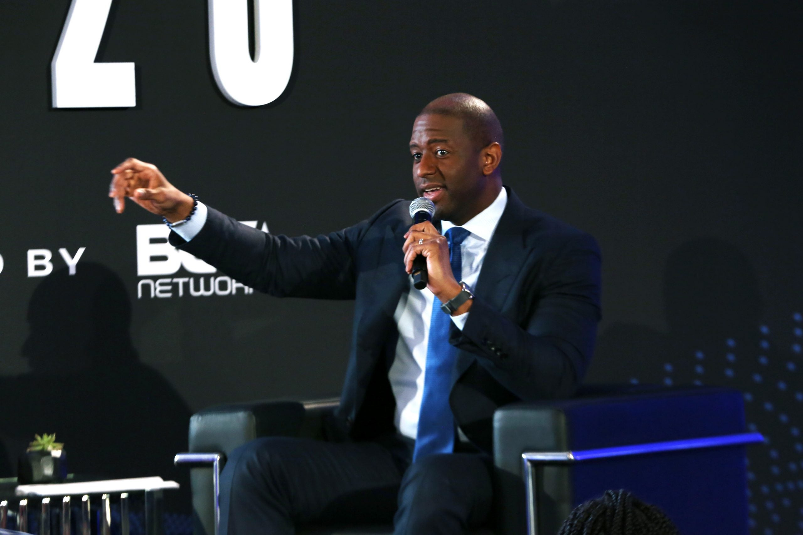 Andrew Gillum speaks onstage during META – Convened By BET Networks
