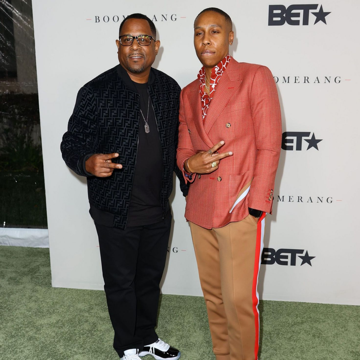 Martin Lawrence, Lena Waithe, Kandi Burruss And Other Celebs Out And About