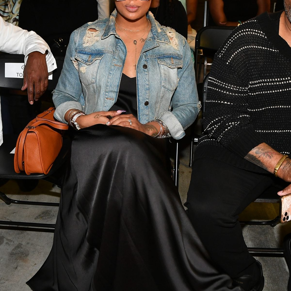 Eva Marcille, Doja Cat And Other Celebs Out And About