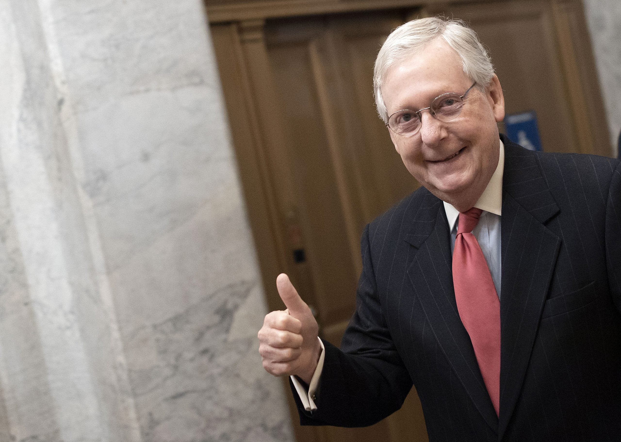 Senate stimulus package allows for $1,200 bank deposit for most Americans