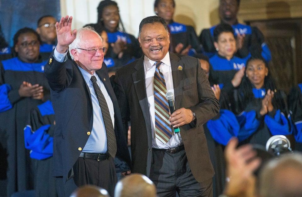 Rev. Jesse Jackson Endorses Bernie Sanders For President