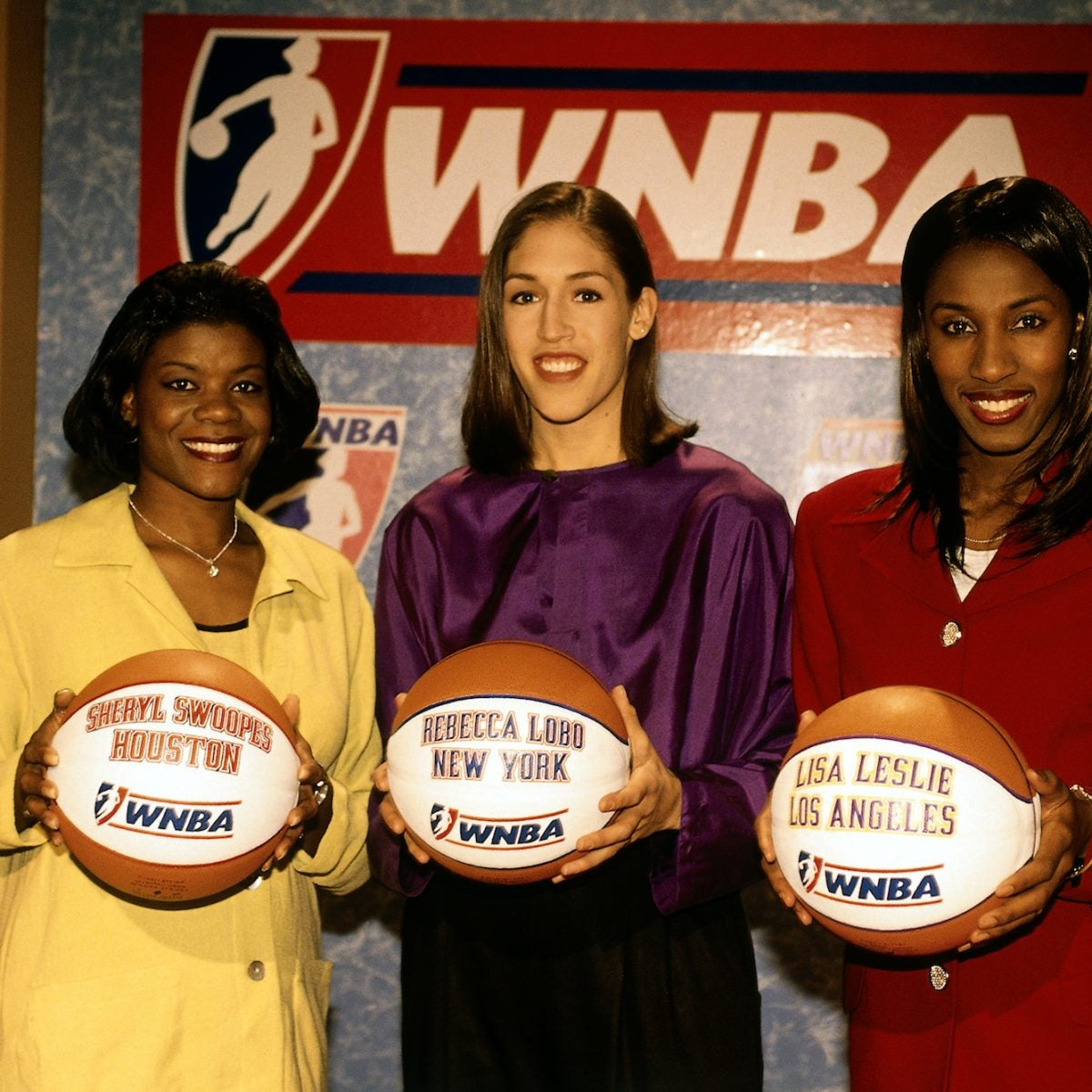 The WNBA Kicks Off Women's History Month With A Nod To Inaugural Stars