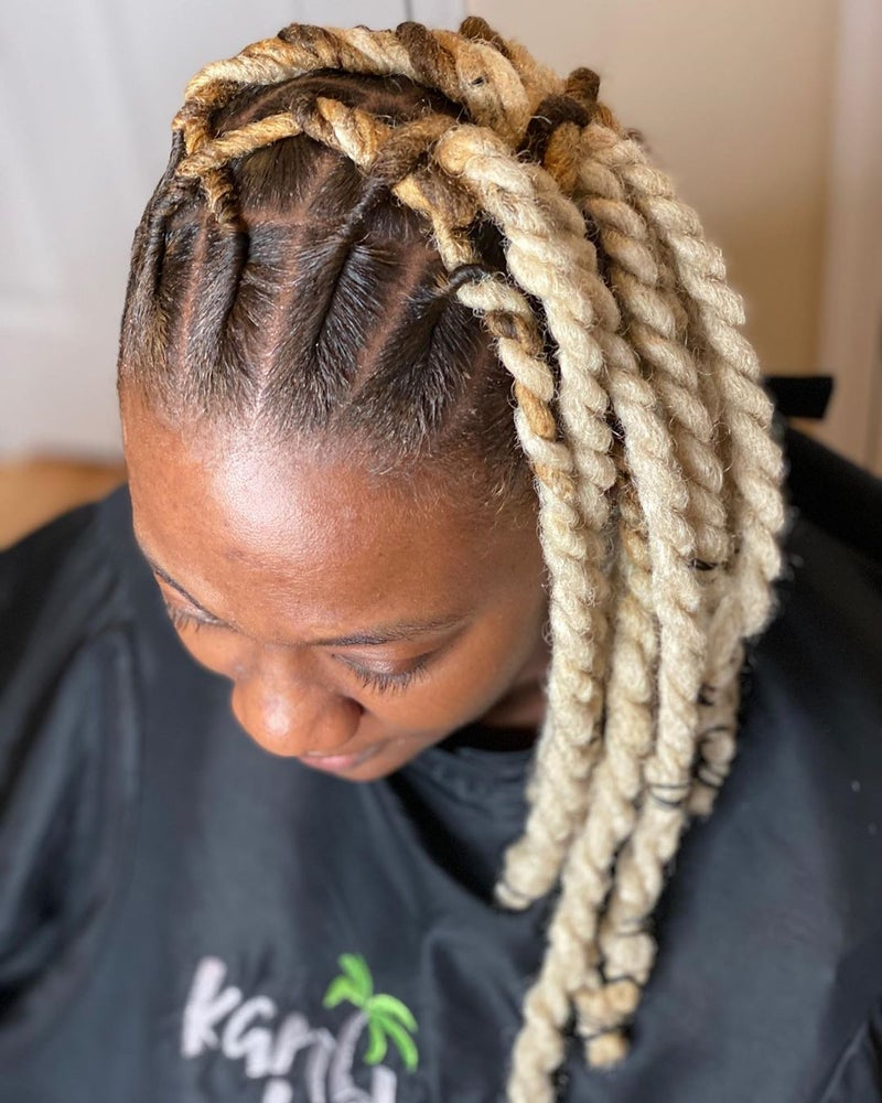 21 Creative Ways To Style Your Locs Essence