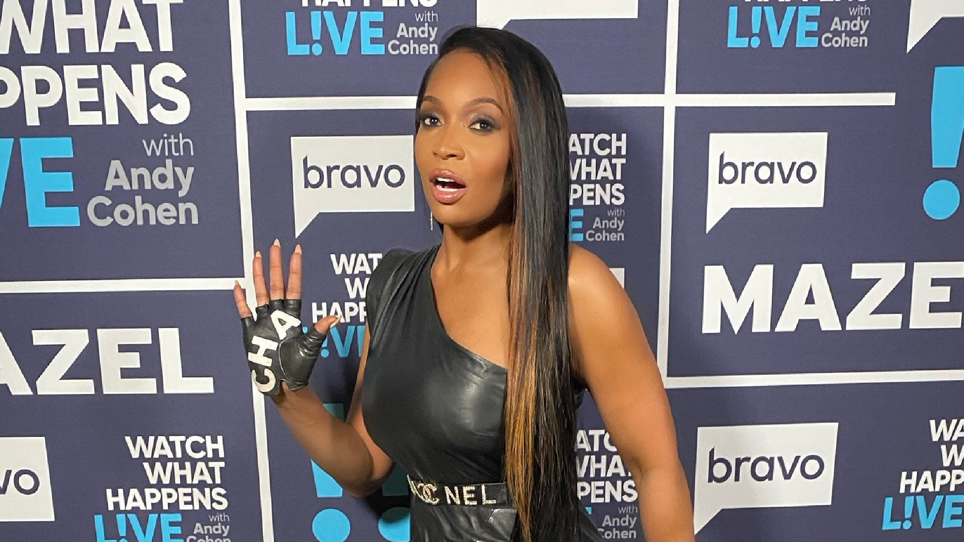 Here's How To Get Marlo Hampton's Stunning Beauty Look From 'WWHL'