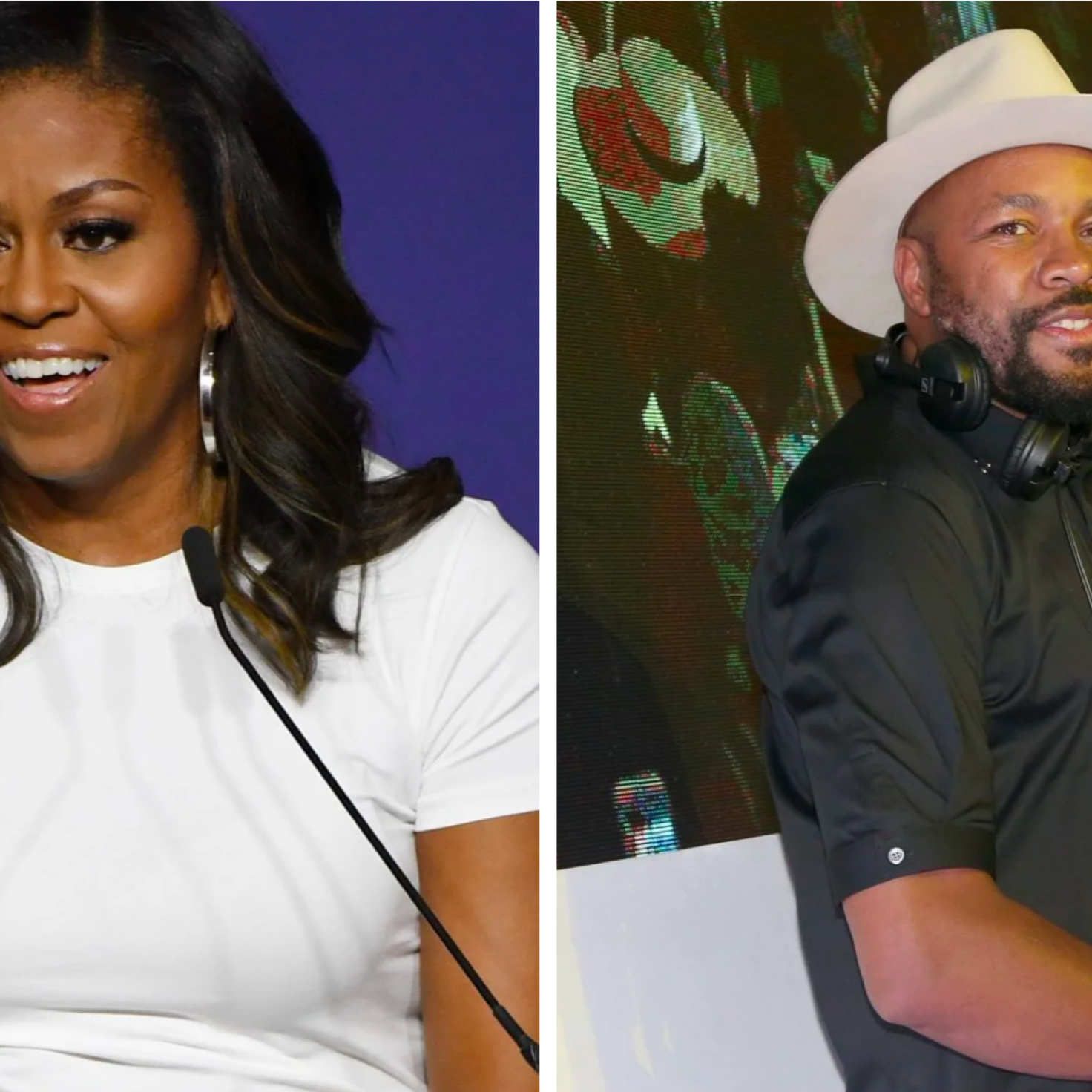Michelle Obama And DJ D-Nice Are Teaming Up For A Virtual Party