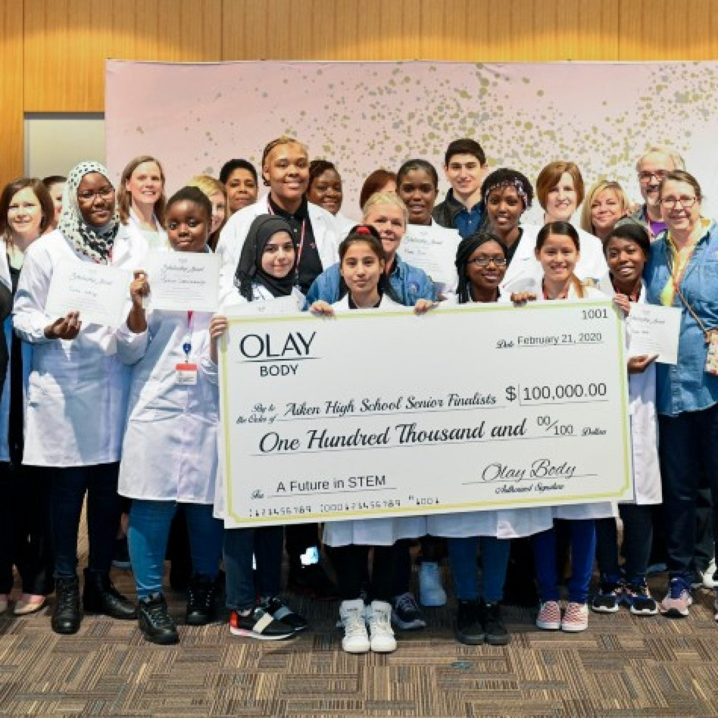 Here's How Olay Body Is Putting $100,000 Towards Our Girls' Futures