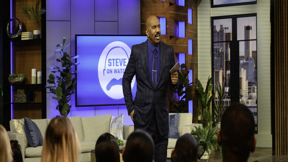 Watch: Steve Harvey's Advice To Woman Whose Boyfriend Isn't Ready For Marriage In New Facebook Watch Show