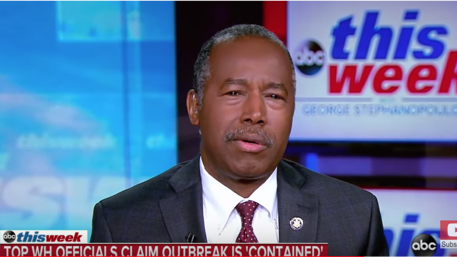 Ben Carson Can't Seem To Figure Out Where The Administration Stands On Coronavirus