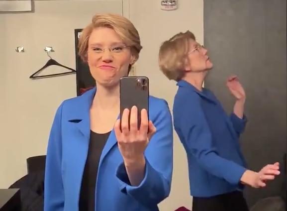 Elizabeth Warren Dancing To Drake Is Giving Peak Unbothered Vibes